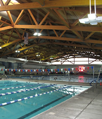 Aquatic Center - Inside